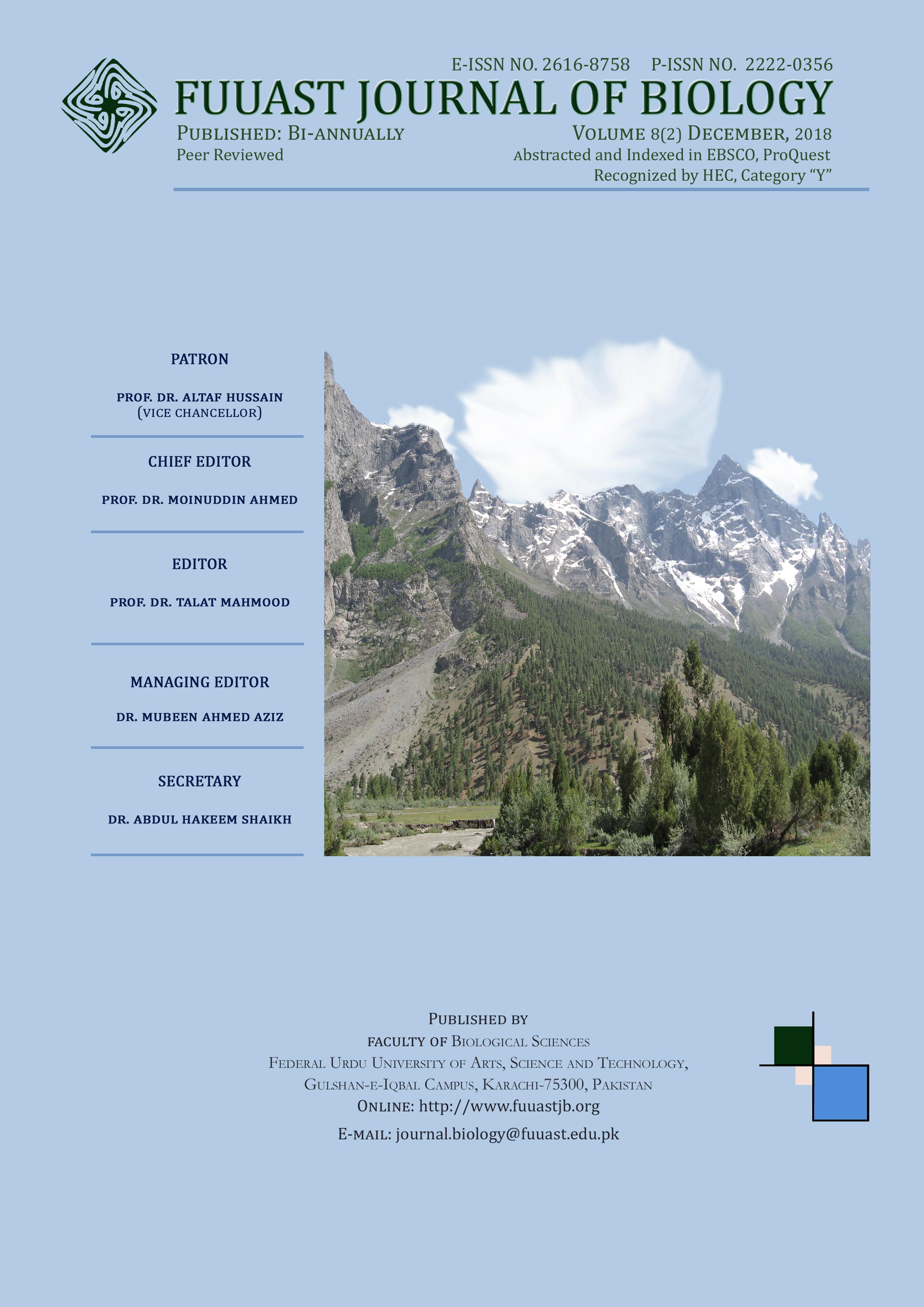 View Vol. 8 No. 2 (2018): Volume 8 (2) December, 2018