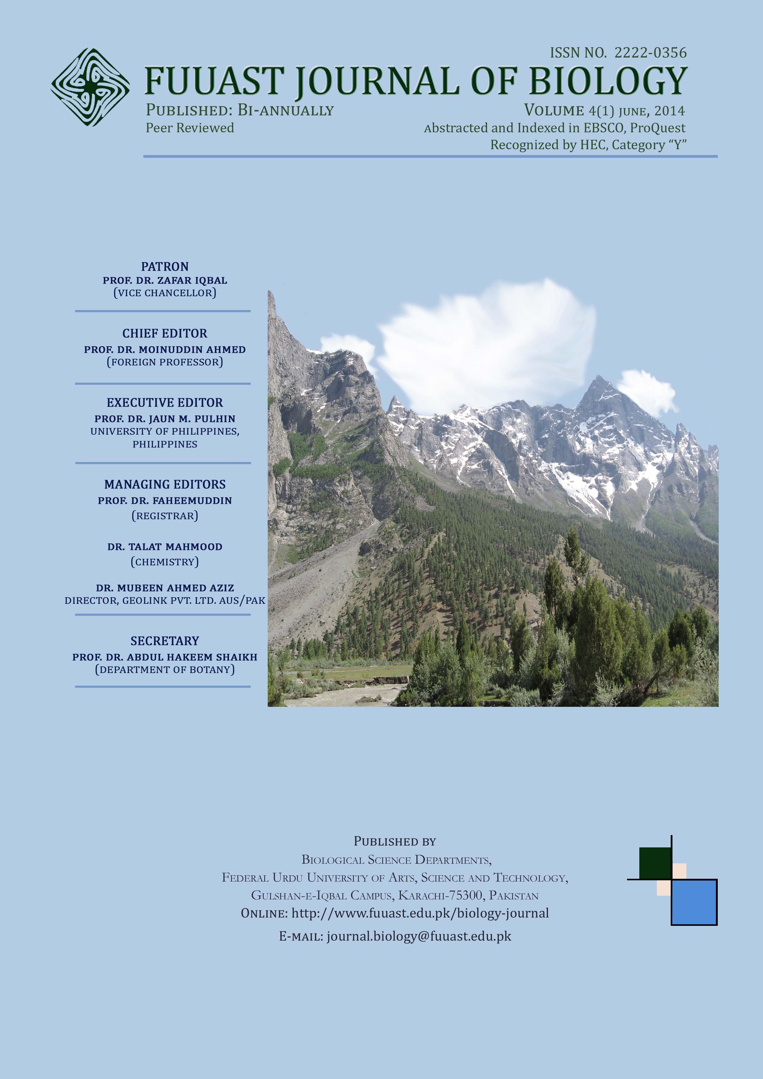 View Vol. 4 No. 1 (2014): Volume 4 (1) June, 2014