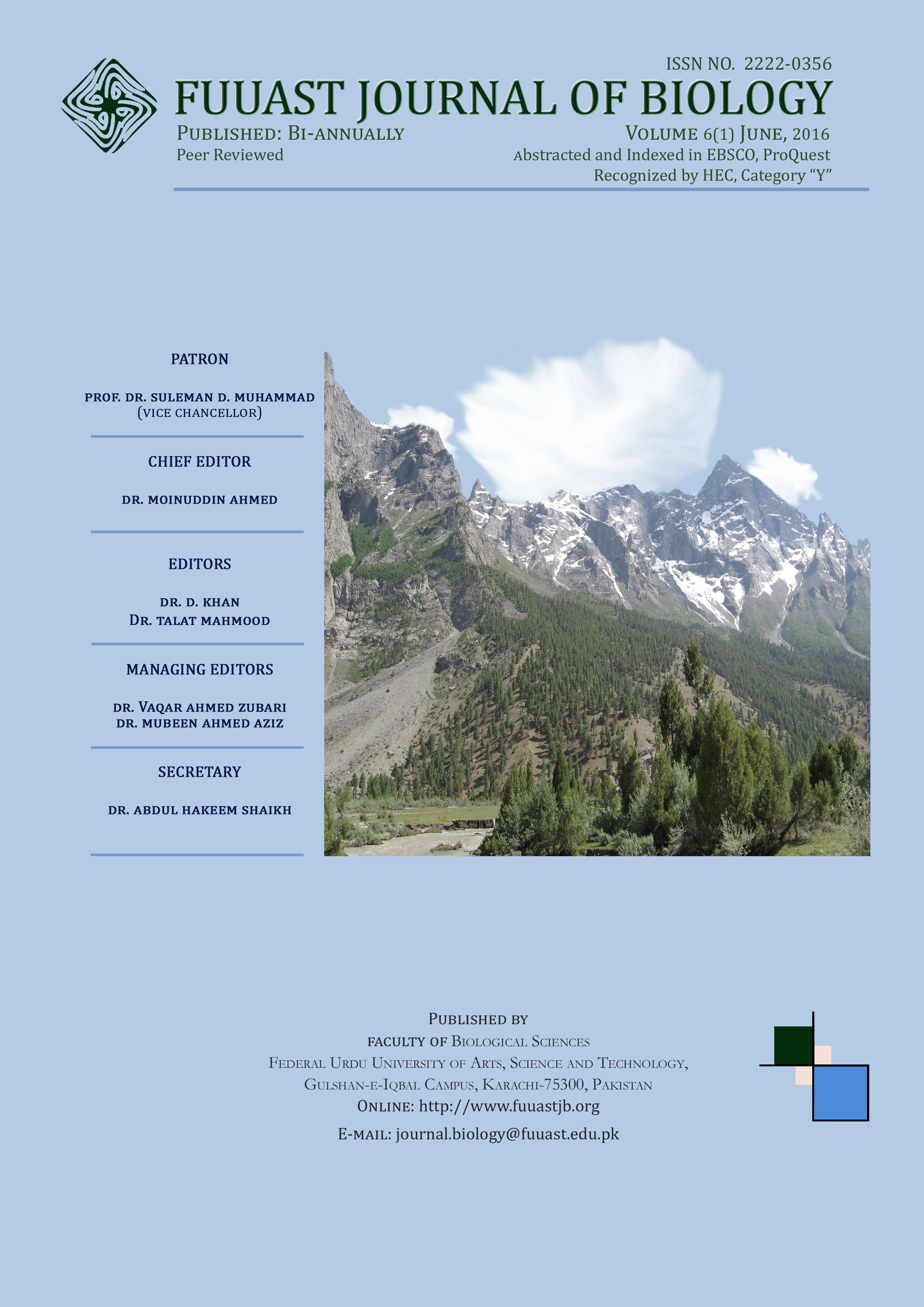 View Vol. 6 No. 1 (2016): Volume 6 (1) June, 2016